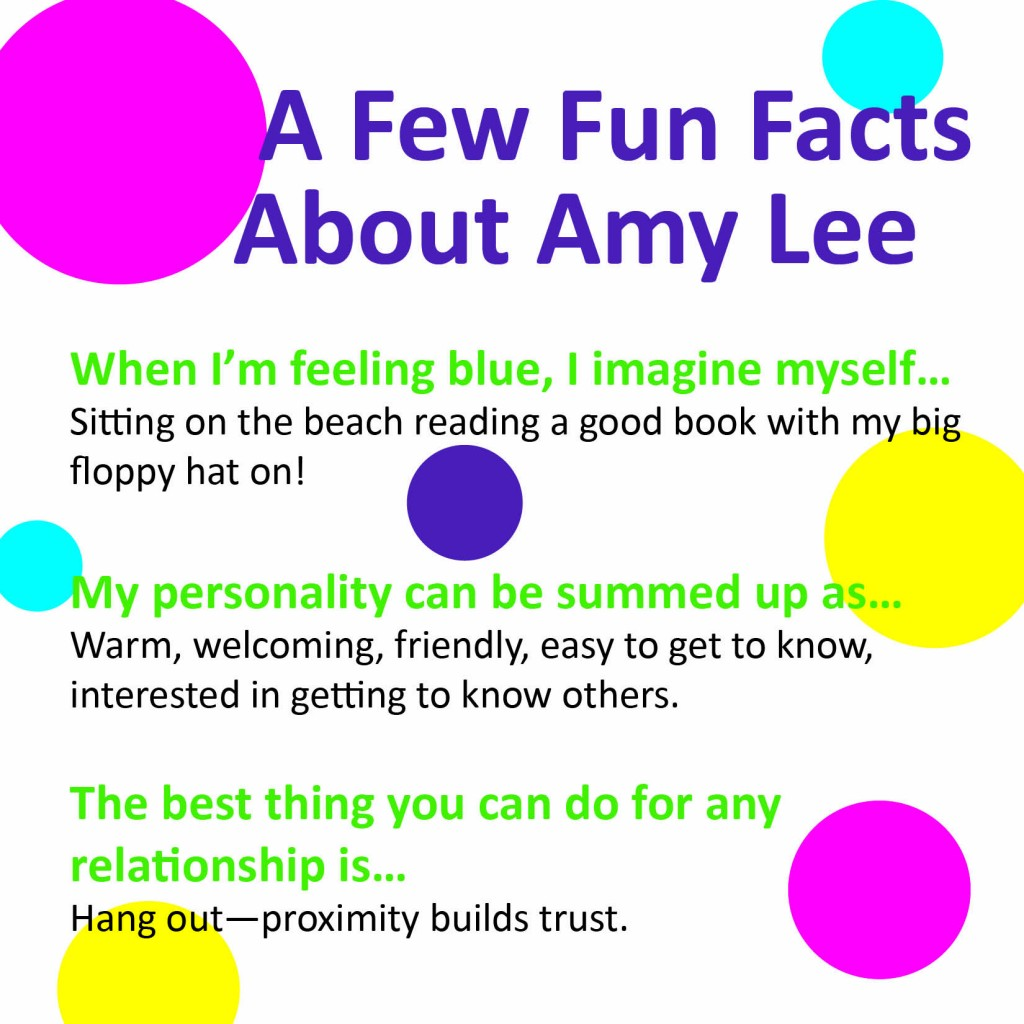 Amy Lee fun facts
